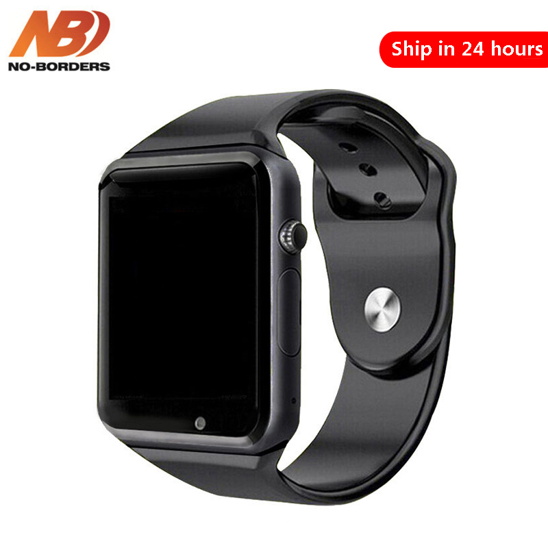 NO BORDERS Bluetooth A1 Smart Watch Sport Wristwatch Support 2G SIM TF Camera Smartwatch For Android Phone PK GT08 DZ09 iwo 8 Y1|Smart Watches| |  - AliExpress