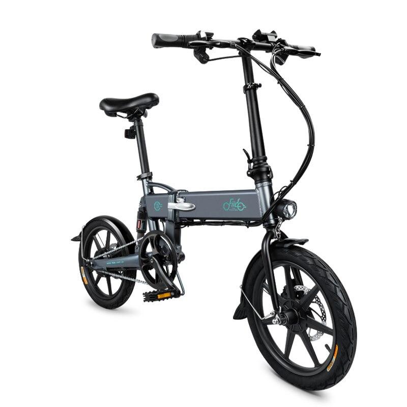 Original FIIDO D2 Falten Elektro-fahrrad E-Bike 7,8 Ah 25 km/h 40 km laufleistung 17,5Kg 1 jahr garantie