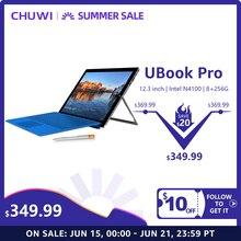 Chuwi ubook pro 12.3 Polegada 1920*1280 windows 10 tablet pc intel gemini lago n4100 quad core processador 8 gb ram 256 gb ssd comprimidos