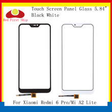 купить 10Pcs/lot Touch Screen For Xiaomi Redmi 6 PRO Touch Panel Digitizer Sensor Front LCD Glass Lens For Xiaomi MI A2 Lite Touch по цене 1546.87 рублей