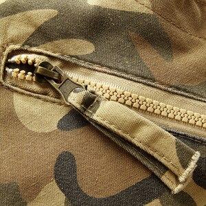 Image 5 - 2020 Hoge Kwaliteit Mannen Cargo Broek Toevallige Losse Multi Pocket Militaire Broek Lange Broek Voor Mannen Camo Joggers Plus maat 28 40