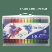 120/150/180Color Watercolro y Color de aceite lápices de madera de lápiz de Color para niños dibujo escolar materiales para dibujo y Bellas Artes