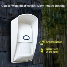433Mhz RF PIR Motion Sensor Anti-Pet Sensor Outdoor Waterproof Compatible with Sonoff RF Bridge Smart Home Alarm Security