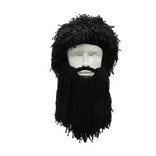 Креативный парик викинга длинная борода шерстяная Осенняя шапка и зимняя теплая Amazon savage тремоло забавная Лыжная шапка