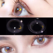 UYAAI 2Pcs/Pair Sailor Moon Contact Lenses With Colored For Eye Beautiful Pupil Soft Contacts Makeup Colored Contact Lenses