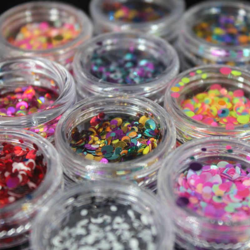 Purpurina con diamantes de imitación, 1 frasco, flor estrella del corazón, polvo, conjuntos de adhesivos para uñas, manicura, accesorios de decoración, suministros para manualidades DIY