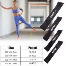 4 pezzi di fascia elastica per Fitness per allenamento della forza Yoga Bodybuilding Stretch Band attrezzature per il Fitness a casa