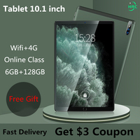 Tablet nuovissimo 10 pollici 6GB RAM 128GB ROM tablet Android 4G rete 10 Core Tablet PC telefono Tablet