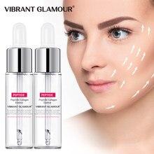Canlı GLAMOUR kollajen peptitler yüz serumu sıkılaştırıcı kırışıklık özü nemlendirici Anti-Aging ince çizgiler 2 adet cilt bakımı
