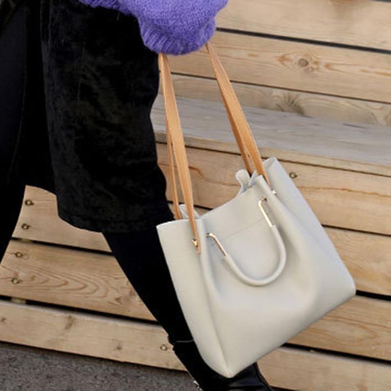 Women Lady Handbag Shoulder Bag PU Leather For Mobile Phone Keys Money Shopping H66