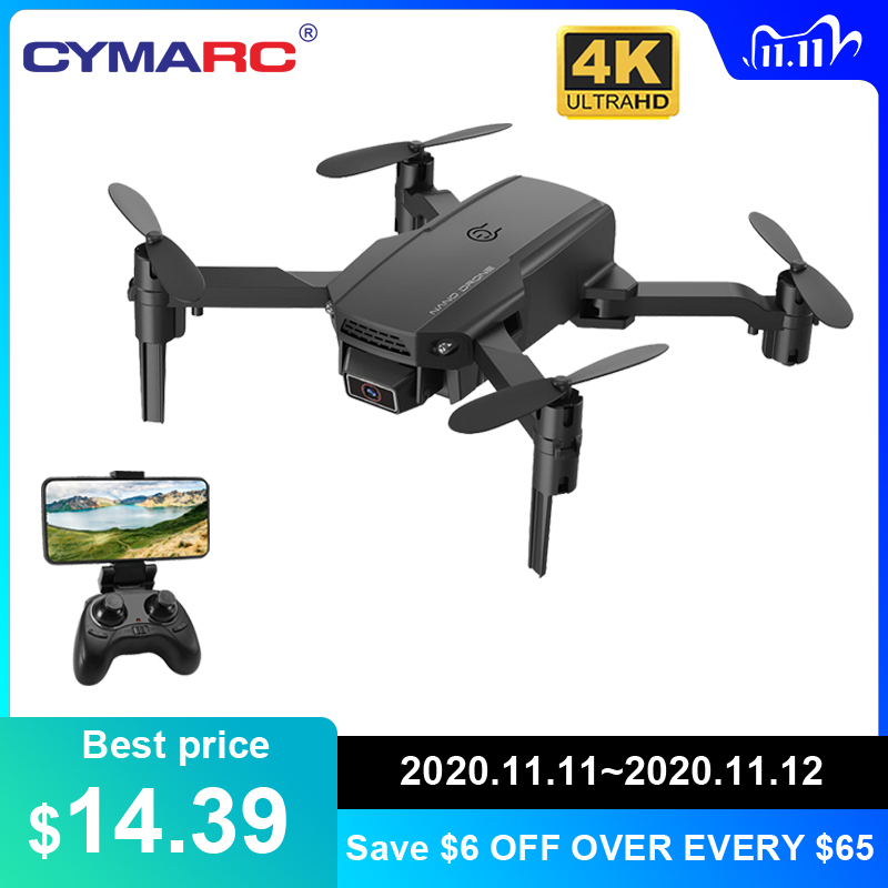 CYMARC KF611 Mini Drone with 4k HD Camera 1080P WiFi FPV RC Drone Altitude Hold Foldable RC Quadcopter Dron E88 M73 XT6