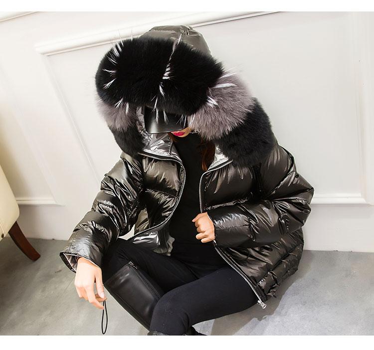 H846f43606c984114b797fa39cefb6b90R Natural Fox Fur Winter Jacket Women Gold Warm Parka Real Fur Down Coat Female White Duck Down Jacket Winter Waterproof Overcoat