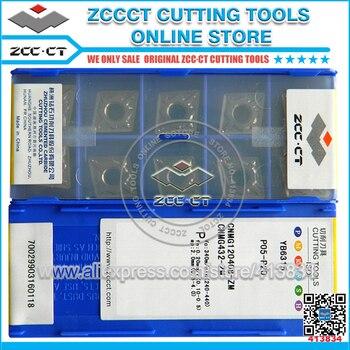 10pcs ZCC carbide inserts CNMG120408 -ZM YB6315 ZCC.CT CNMG432-ZM cnc tools for medium cut of steel CNMG120408-ZM
