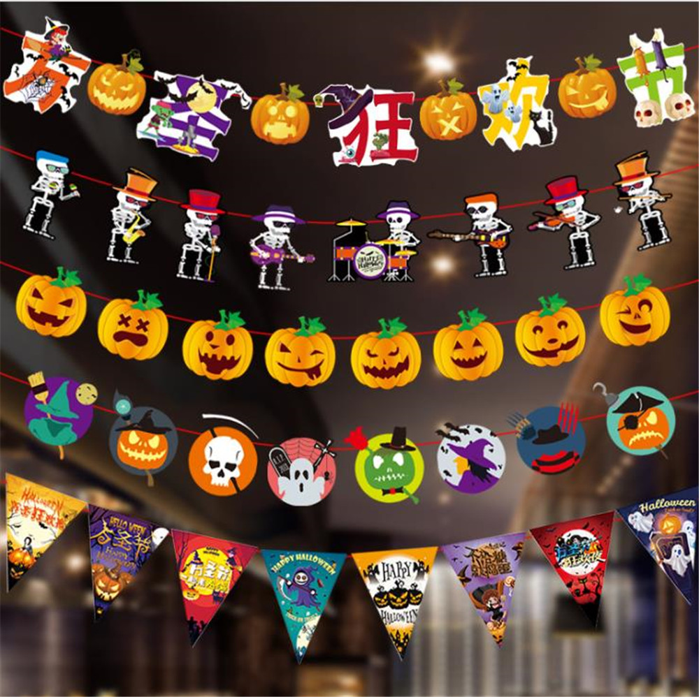 Cartoon Hat Halloween Foil Balloons DIY Halloween Decorations Children's Inflatable Toys Pumpkin Bat Ghost Halloween Hat