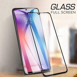 Image 4 - 50 قطعة التغطية الكاملة 9D الزجاج المقسى ل Xiaomi A3 لايت مي A2 A1 5X 6X Mi7 اللعب ملاحظة 3 بوكو X3 X2 F1 F2 شاشة حامي فيلم