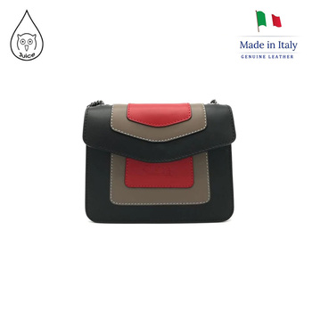 Juice brand, genuine leather bag Made in Italy, shoulder bag 103.412