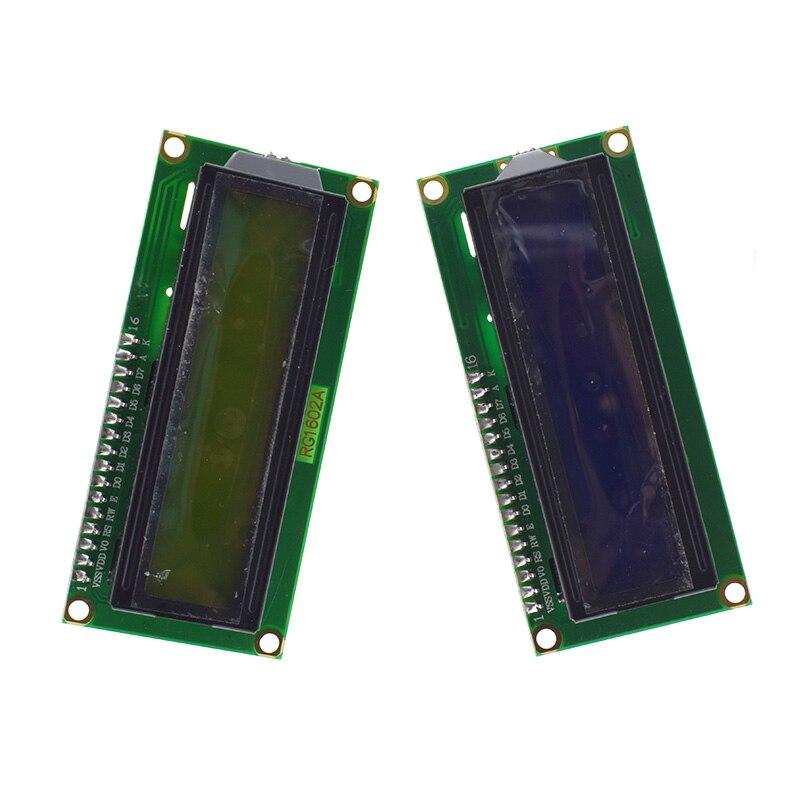 1PCS LCD module Blue screen IIC/I2C 1602 for arduino 1602 LCD UNO r3 mega2560 Green screen 2