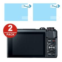 2X Miếng Dán Bảo Vệ Màn Hình LCD Bảo Vệ cho Máy Ảnh KTS Canon PowerShot G7 X G7X Mark II G5X G9X G1X III EOS R RP M5 M6 M50 M100 M3 M10 M2 M