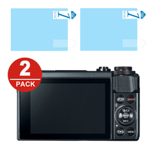 2x LCD Screen Protector Protection Film for Canon Powershot G7 X G7X Mark II G5X G9X G1X III EOS R RP M5 M6 M50 M100 M3 M10 M2 M
