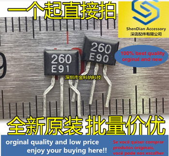 10pcs only orginal new KV1260TS2 printed silk 260 E TO-92S in-line small transistor