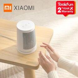 2020 XIAOMI MIJIA Desktop Electric Heaters Fan handy Protable Mini Home heater 600W PTC Fast Heating Safety Fireproof Material