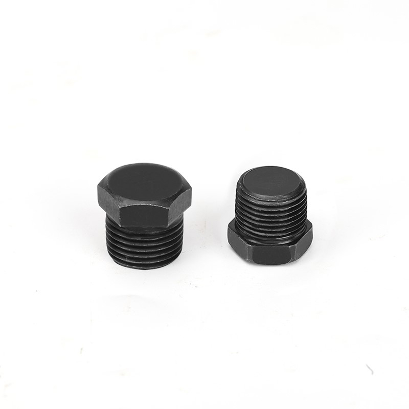 Carbon Steel Pipe Fitting Hex Plug 1/8