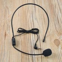 1PCS Hot Sale Pratical External Voice Collar Clip Mic Speaker Mike Wired Headset Microphone Portable and Easy to Use