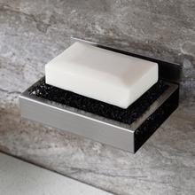 Soap Box Dish Metal Storage Plate Tray Holder Case Stainless Steel Soap Holder Bathroom Tray Accessories Box Shelf Wall Dishes tattoo kits stainless steel sterilization flat tray medical disinfection plate tray tattoo accessories