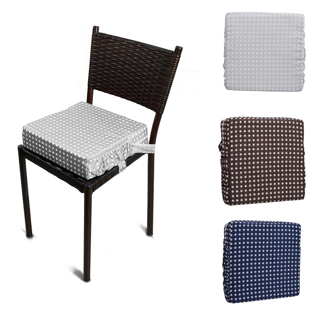 Baby Kids Booster Seat For Dining Portable Thick Chair Increasing Cushion Pad Chair Increasing Feeding High Chair Cushion @45(China)