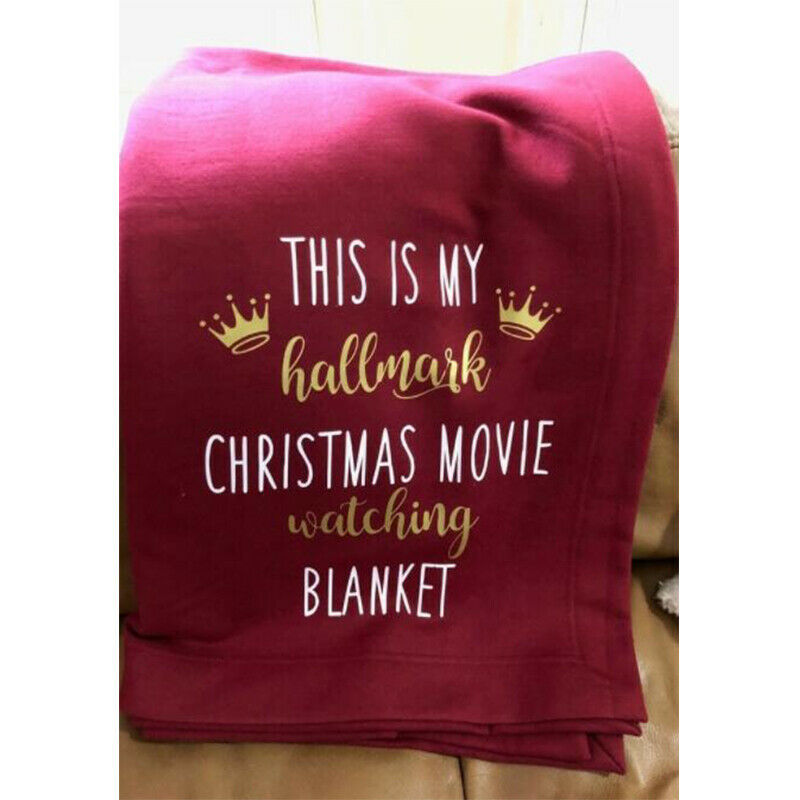 This Is My Hallmark Christmas Movie Watching Blanket Quilt Blanket 5 SIZES US