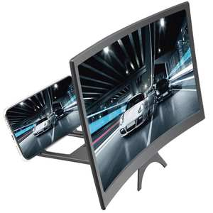 12inch New Mobile Phone Curved Screen Amplifier HD 3D Video Mobile Phone Magnifying Glass