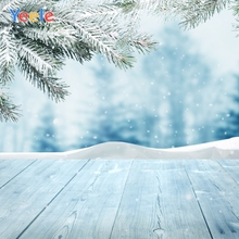 Yeele Christmas Bokeh Winter Pine Leaves Customized Photography Backdrops Personalized Photographic Background For Photo Studio