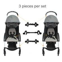 Accessori Per neonati 2 Passeggino Connettore Passeggino Accessori Connettore per 2 Carrozzine Del Bambino Accessorio