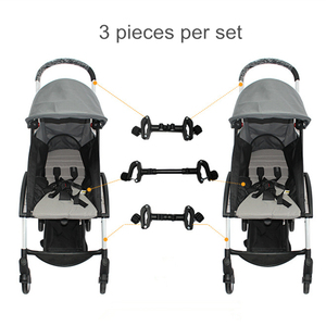 Image 1 - Baby Accessories 2 Stroller Connector Stroller Accessories Connector for 2 Prams Toddler Accessory