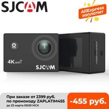 Helmet Camera Waterproof Mini Sports Sjcam Sj4000 4k 30fps Full-Hd Screen AIR Wifi-2.0