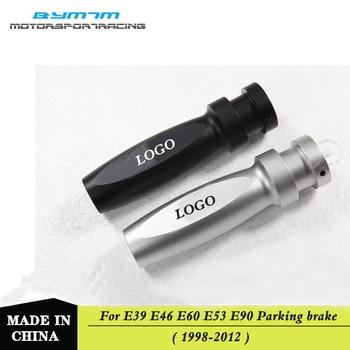 AC Style Automotive interior Metal wire-drawing Handbrake parking brake For BMW E46 E60 E90 E92 E93 M3