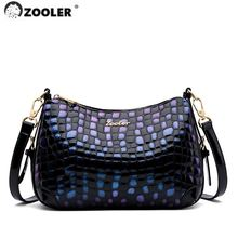 Zooler/Брендовые женские сумки через плечо из натуральной кожи