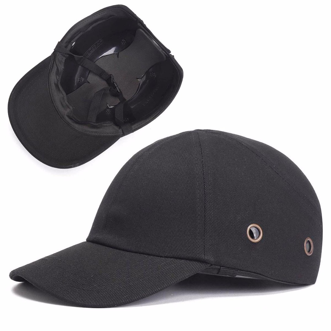 Work Safety Cloth Hat Baseball Bump Caps Lightweight Safety Hat Head Protection Caps Workplace Construction Site Hat