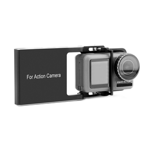 Image 2 - Hot 3C Portable Stable Adapter for DJI Osmo Action Easy Install Handheld Gimbal Sports Camera Accessories