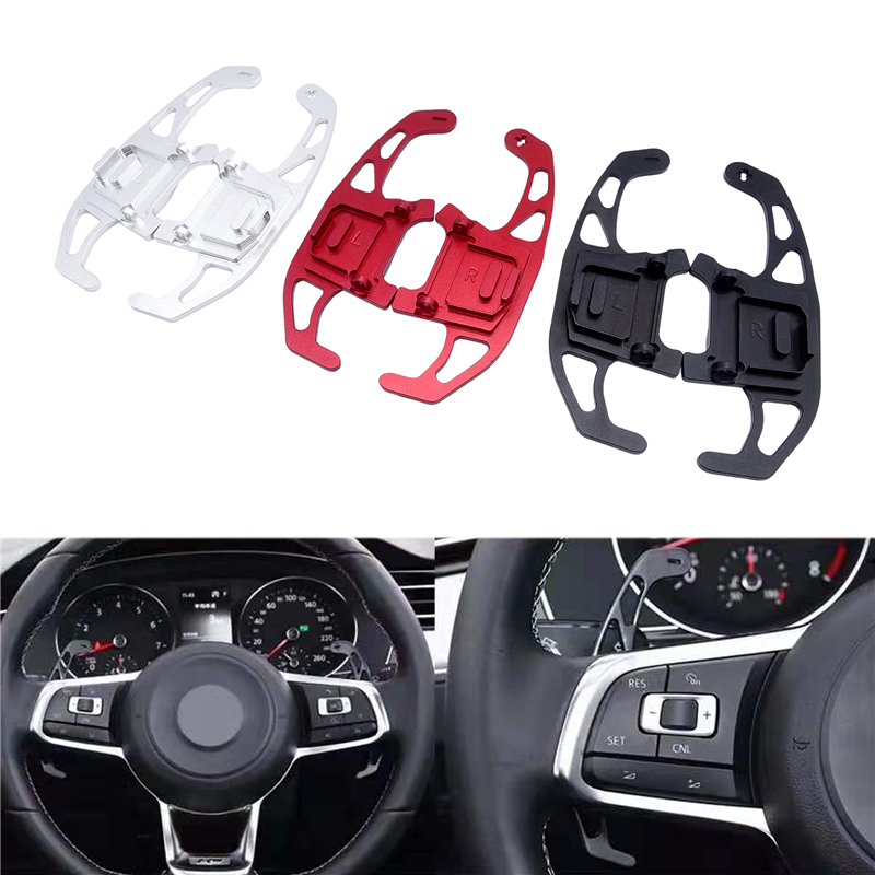 Для VW GOLF GTI R GTD GTE MK7 7 POLO GTI Scirocco 2014-2019 металлический сплав весло для рулевого колеса автомобиля Замена