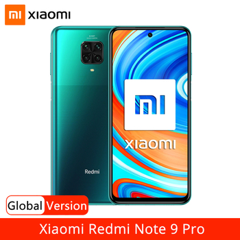 "Global Version Xiaomi Redmi Note 9 Pro 6GB RAM 64GB 128GB ROM Mobile Phone Snapdragon 720G 64MP Quad Camera 6.67"" 5020mAh NFC"