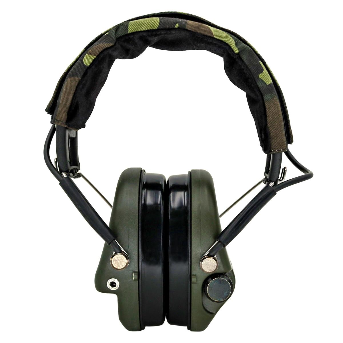 Тактические наушники MSA Airsoft Sordin, уличные охотничьи Электронные Наушники с защитой слуха и шумоподавлением, тактические наушники для стрельбы-1