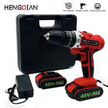 Cordless drill heavy duty battery drill 21V portable Lithium battery drlling machine