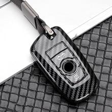 Глянцевая Интеллектуальный Автомобильный ключ дистанционного управления чехол крышка цепи для BMW 2, 3, 4, 5, 6, 7, серия X3 X4 X5 X6 F10 F20 F30 E34 E39 E46 E90 E70 ...