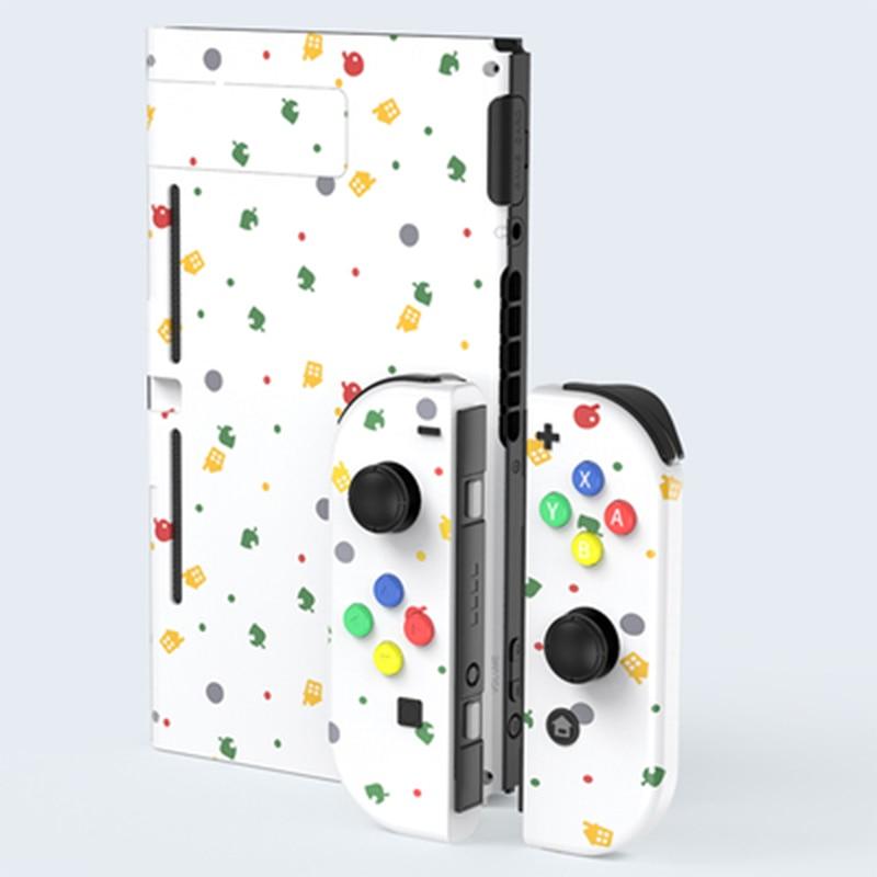 Custom Animal Crossing Themed For Nintendo Switch Joycon Joy-Con Controllers Shell