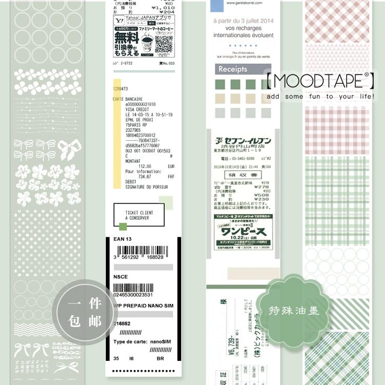Moodtape  Washi Tape Pet Transparency  Tape Scrapbooking Album Diy Handmade Decoration Sticker Maskingtape Paper 615840983791