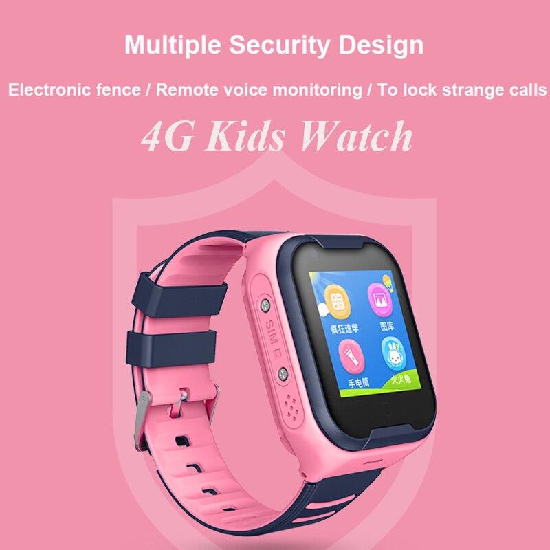 GPS montre SOS montre enfants téléphone montre Wifi étanche vidéo appel Smartwatch 1.4 pouces enfants horloge intelligente caméra bébé montre pk d8 - 4