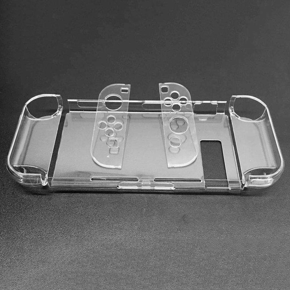 Жесткий защитный чехол из поликарбоната для Nintendo Switch NS, чехол, съемный прозрачный пластиковый корпус, консоль, контроллер, аксессуары, Пряма...
