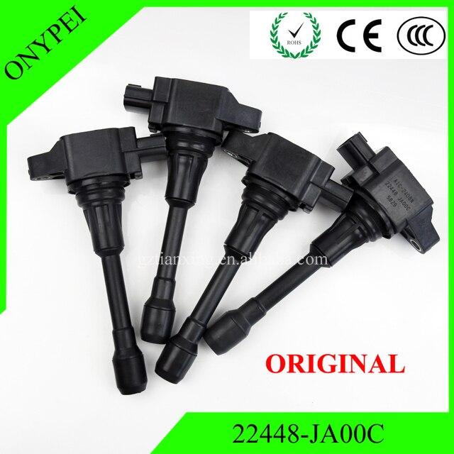 OEM 22448 JA00C AIC 2408N XIC AC06N Car Coils Ignition Coil For Nissan Altima Rogue Sentra Versa Infiniti 22448JA00C 22448 JA00C