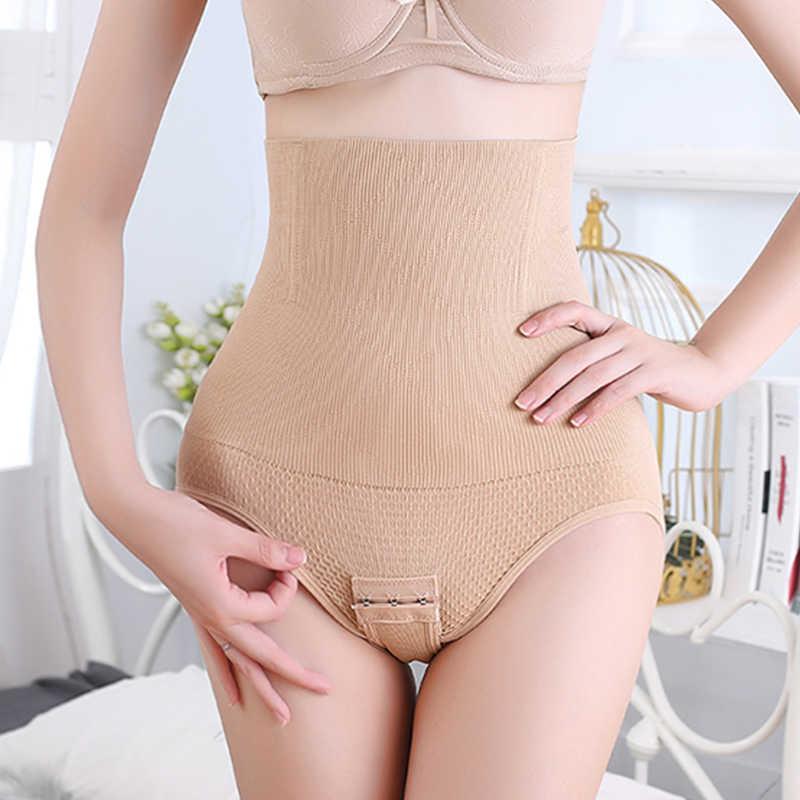 여성 바디 셰이퍼 Shapewear 속옷 배꼽 슬리밍 컨트롤 팬티 허리 트레이너 여성 높은 허리 엉덩이 기중 엉덩이 향상제